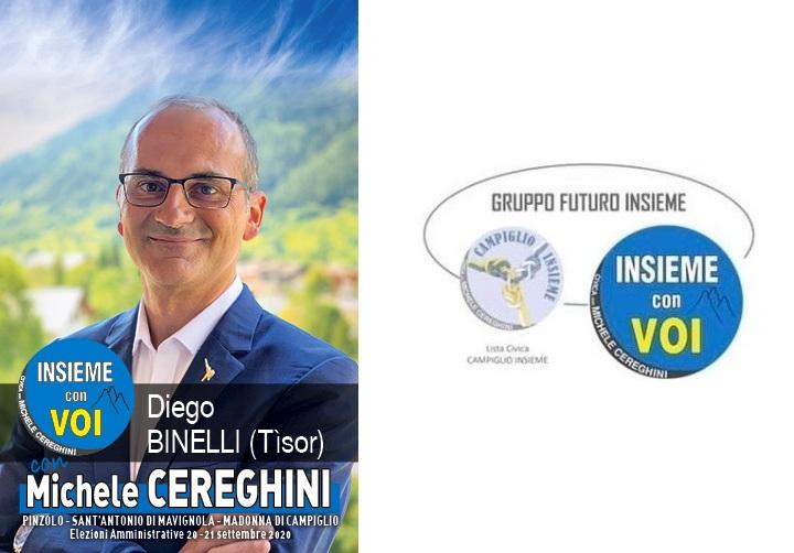 Candidato DIEGO BINELLI – Lista Insieme con Voi