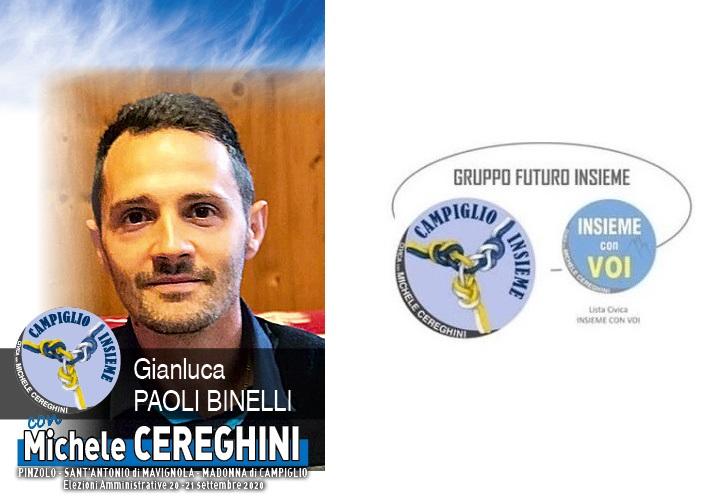 Candidato GIANLUCA PAOLI BINELLI – Lista Insieme con Voi