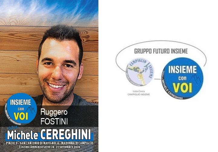 Candidato RUGGERO FOSTINI – Lista Insieme con Voi