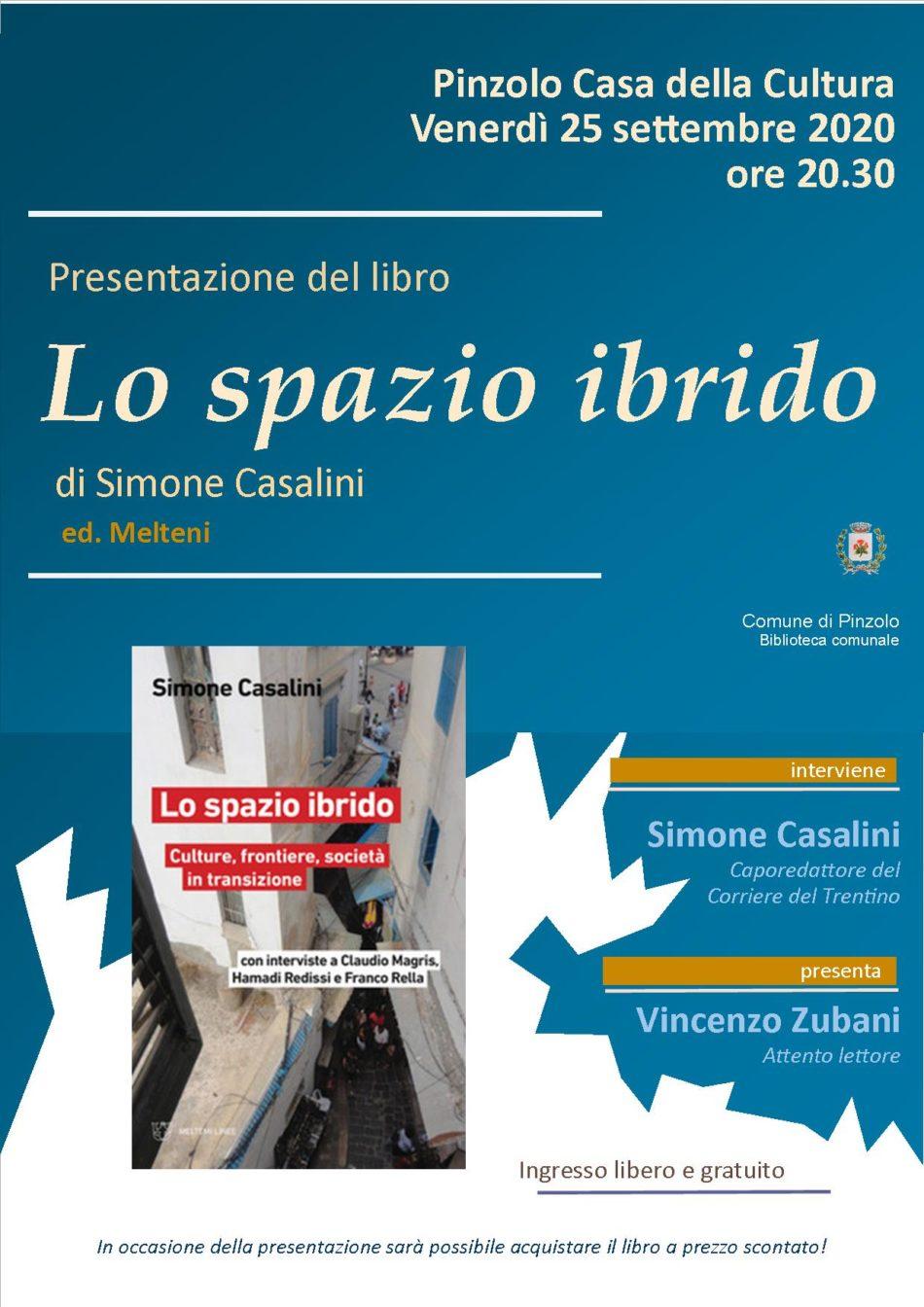 """Presentazione del libro """"Lo spazio ibrido"""" di Simone Casalini"""