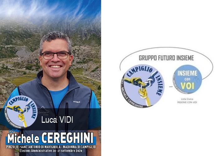 Candidato LUCA VIDI – Lista Campiglio Insieme