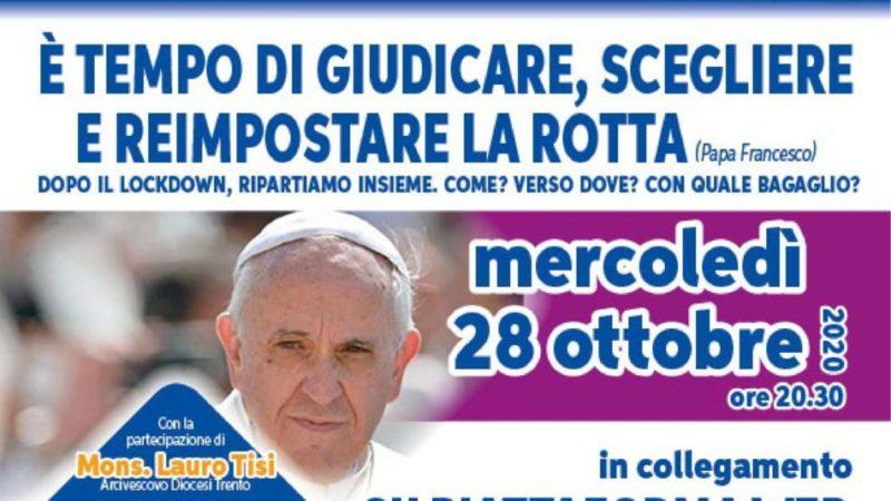 """Il prossimo incontro """"Alleanza Scuola Famiglia Comunità"""" si terrà il 28 ottobre: """"E' tempo di giudicare, scegliere e reimpostare la rotta""""."""