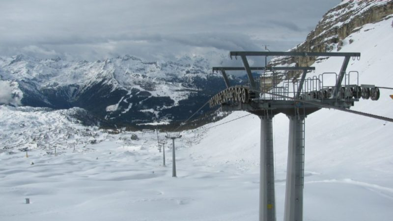 """Madonna di Campiglio e Pinzolo:""""Pronti. Skiarea Campiglio. Via"""""""