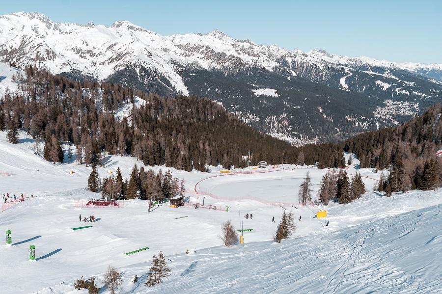 Lago Grual e Brenta Snow park