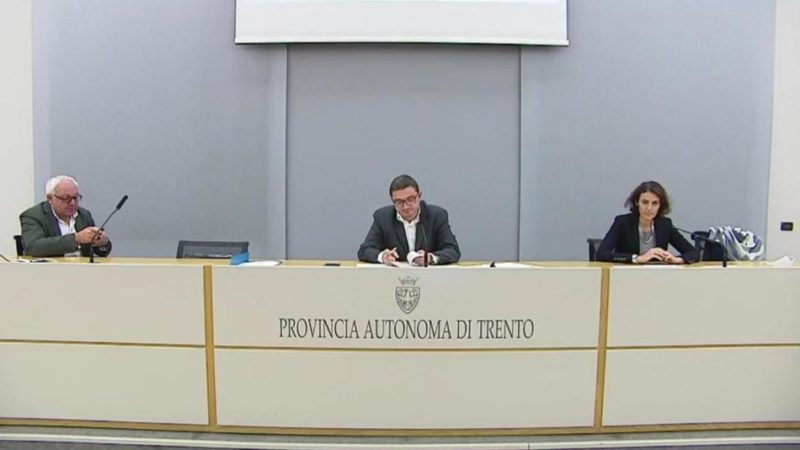 Aggiornamento situazione Coronavirus in Trentino – 23 ottobre 2020: nessun deceduto, 207 nuovi positivi su 3.017 tamponi, nei prossimi giorni una nuova ordinanza