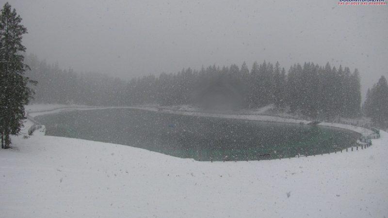 Torna la neve sulla skiarea Campiglio