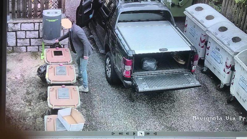 Abbandono di rifiuti: la Polizia locale sanziona grazie al sistema di video sorveglianza del Comune