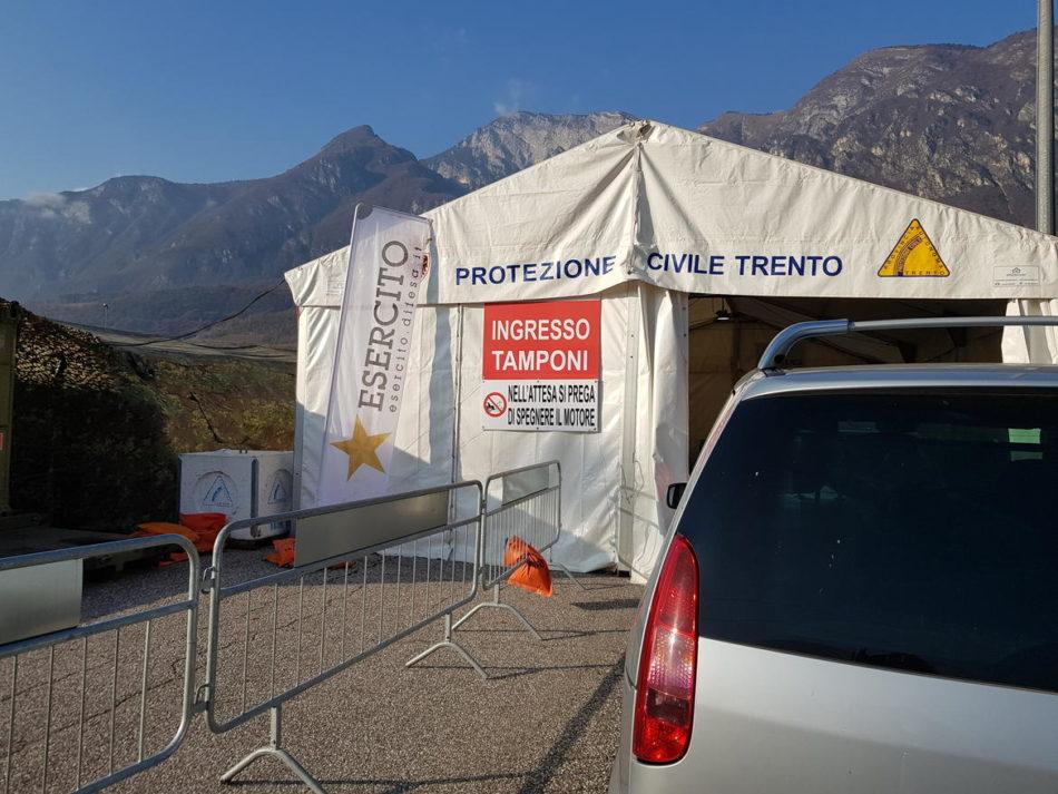 Aggiornamento situazione Coronavirus in Trentino – 23 novembre 2020: 93 nuovi positivi con 1484 tamponi processati;altri 7 i decessi.