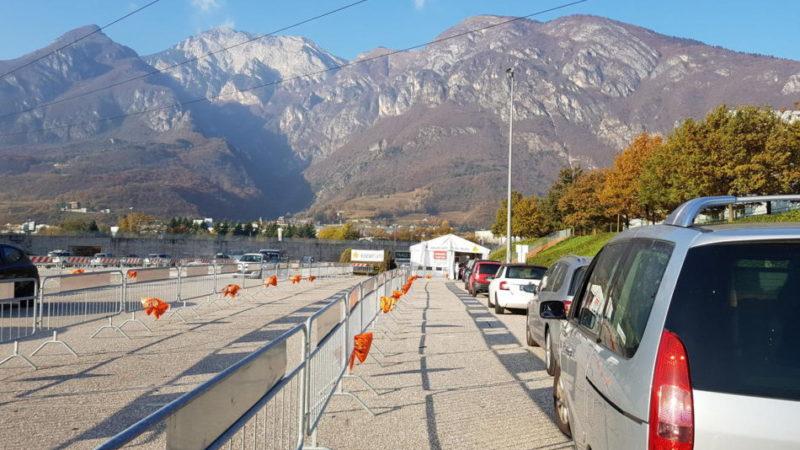 Aggiornamento situazione Coronavirus in Trentino – 22 novembre 2020: 159 nuovi casi positivi, 1 decesso, oltre 300 guariti, 3.500 tamponi