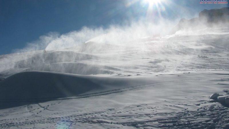 Dopo settimane di tempo stabile e soleggiato, venerdì sono previste nevicate diffuse e persistenti