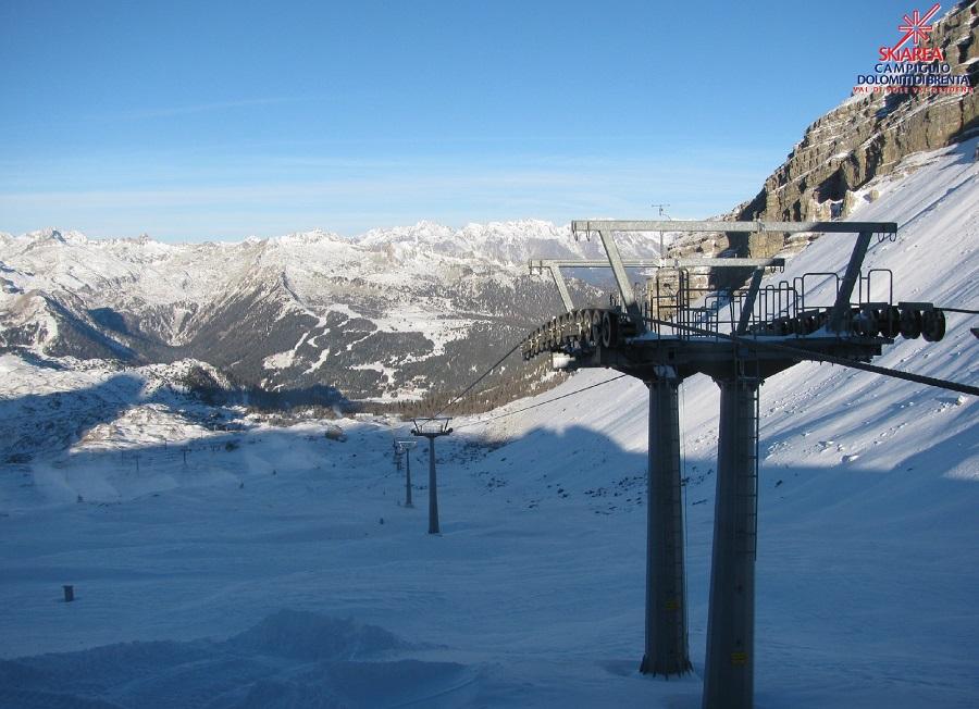 La skiarea Campiglio crede nella stagione invernale