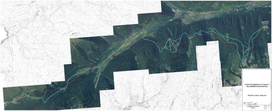 Progetto di fattibilità Collegamento Passo Tonale-Marilleva