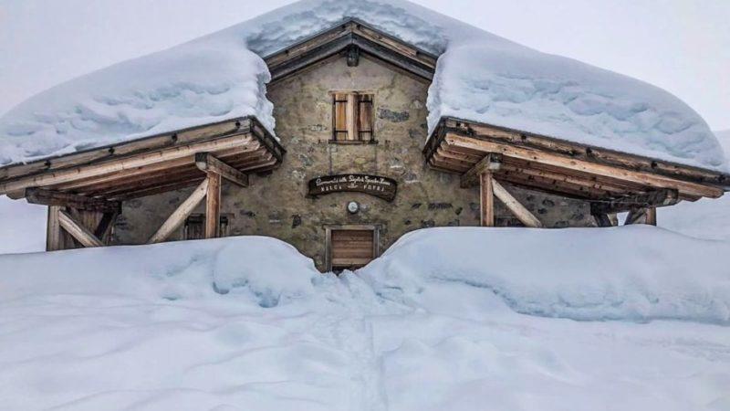 Nel fine settimana cadrà più di un metro di neve