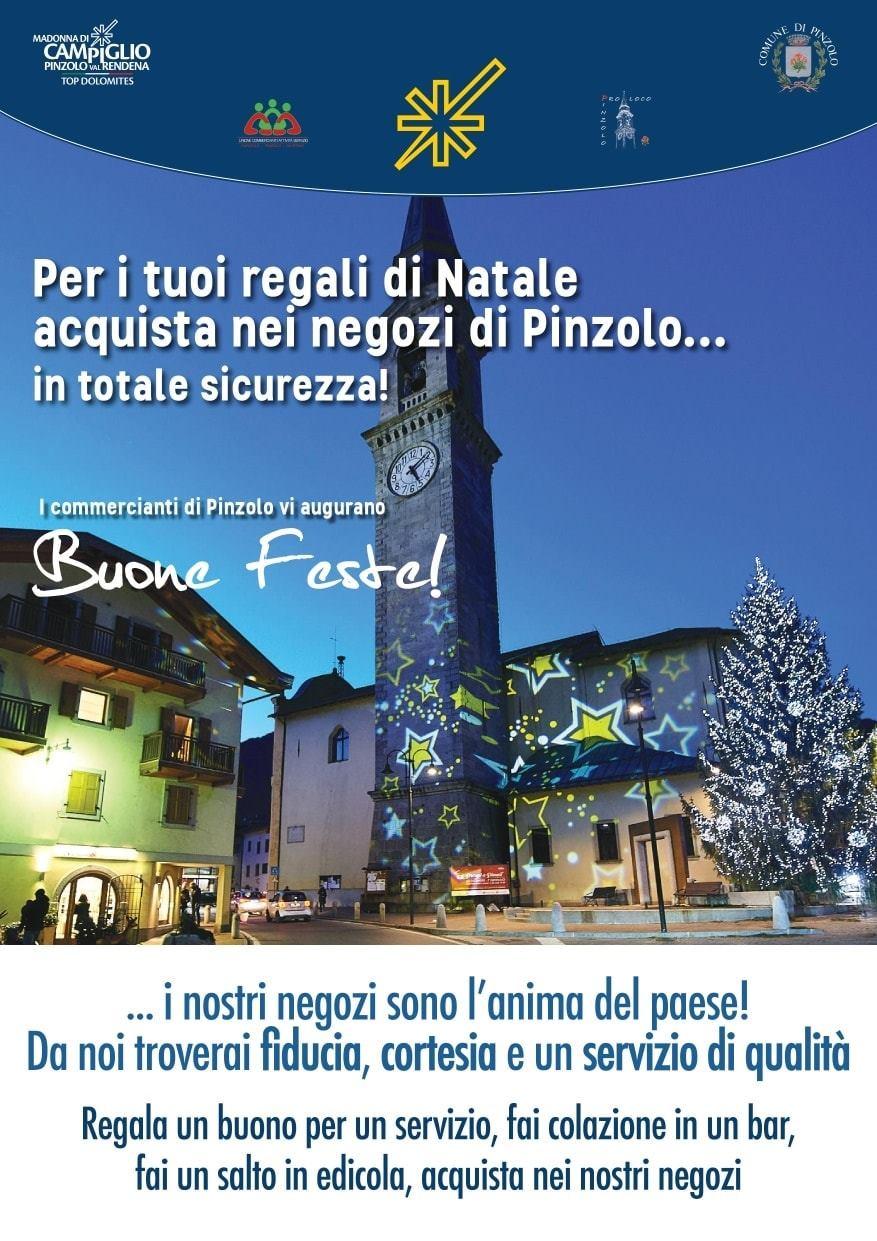 Per i tuoi regali di Natale acquista nei negozi di Pinzolo
