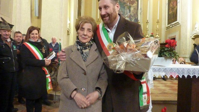 La signora Emma, custode per tanti anni della chiesa di S. Martino a Mantova