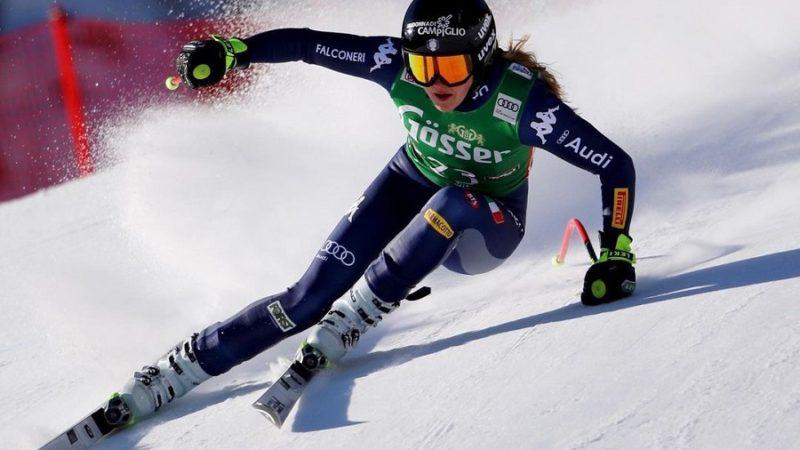 Laura Pirovano non conferma il risultato di ieri a St. Anton