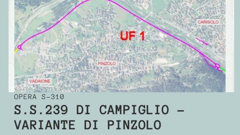La variante di Pinzolo tra le cinque opere strategiche per lo sviluppo del territorio e per la ripartenza economica
