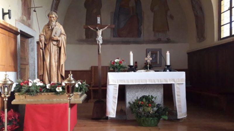 Solidarietà e preghiera domenica 17 gennaio a Mavignola per S. Antonio Patrono del piccolo borgo alpino
