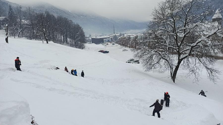 Neve a Pinzolo