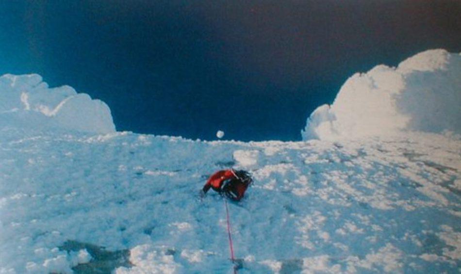 Salita invernale al Cerro Torre - Caruso Giarolli Sarchi Salvaterra