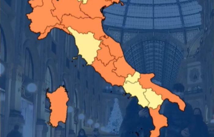 Ministero della Salute: non cambia il colore Giallo del Trentino