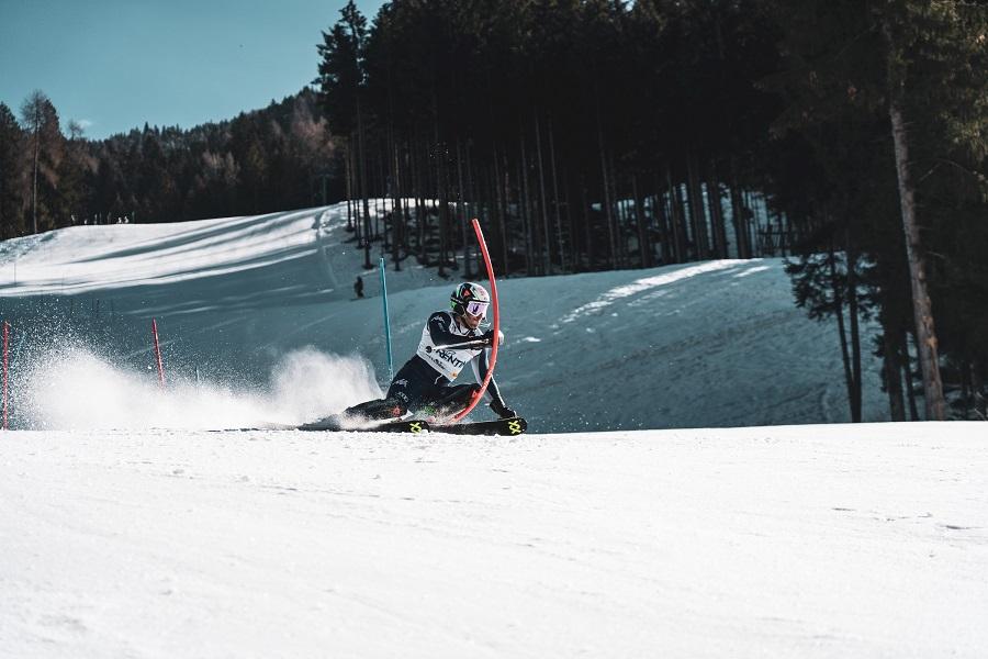 A Pinzolo, sulla Tulot Audi slope, italiani e francesi si allenano per lo slalom di Cortina