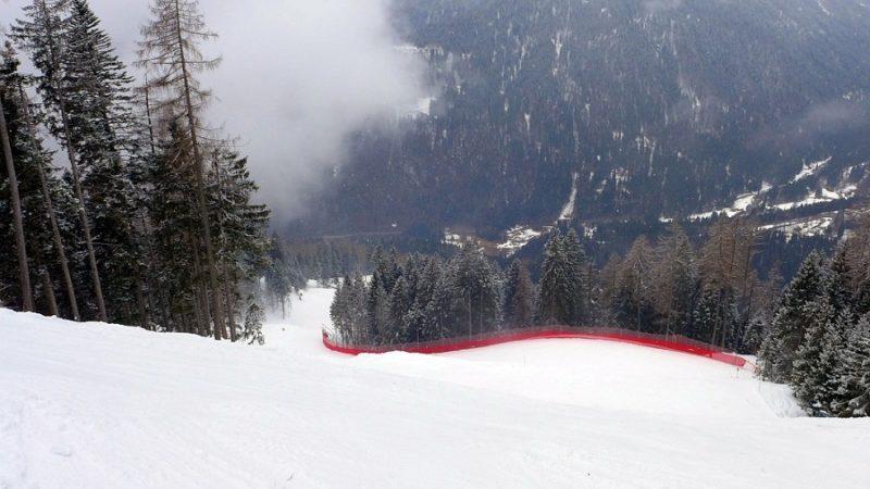 Gli azzurri e i francesi si allenano sulla Tulot in vista dello slalom mondiale di Cortina