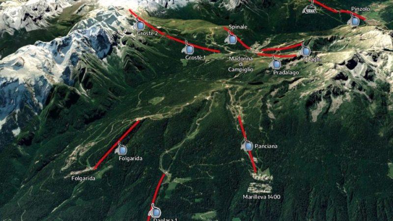 Il presidente del Dolomiti Superski annuncia l'apertura di 112 impianti dal 12 giugno. E la skiarea Campiglio?