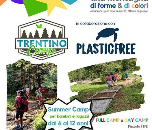 TRENTINO CAMP, il campus estivo per bambini e ragazzi dai 6 ai 12 anni per vivere la natura a 360°