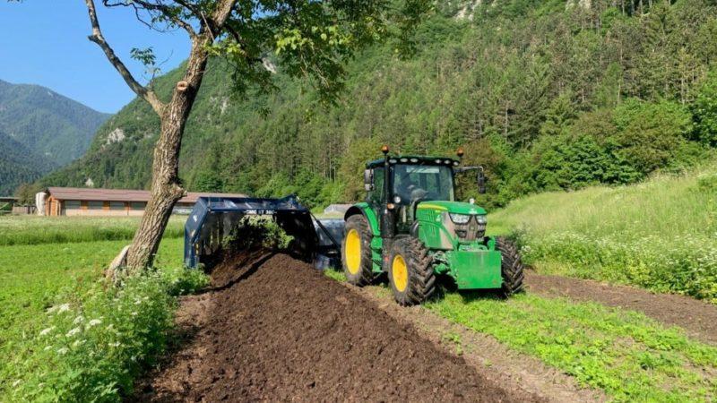 Il Letame di Ledro è risorsa per l'agricoltura di qualità anche fuori valle