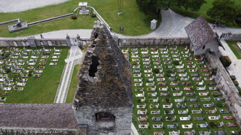 Ecco gli ingenti danni al campanile di san Vigilio