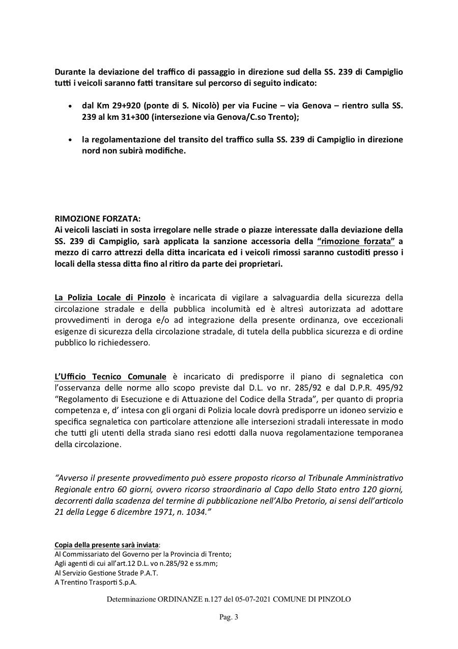 Ordinanza n. 127