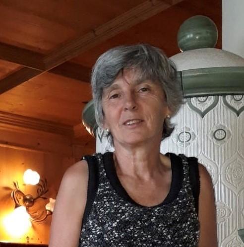 La Presidente Giovanna Tomasini Apsp S. Vigilio- Fondazione Bonazza di Spiazzo dal maggio 2018