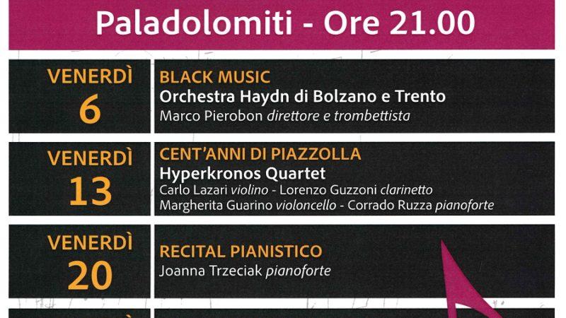 Concerti ARS MODI – Prosegue la stagione dei concerti al PalaDolomiti di Pinzolo