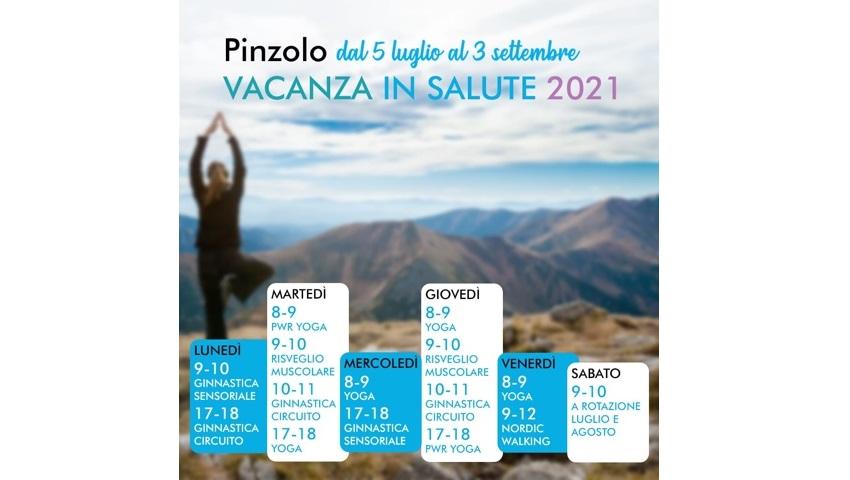 Continuano le attività gratuite di vacanza in salute 2021