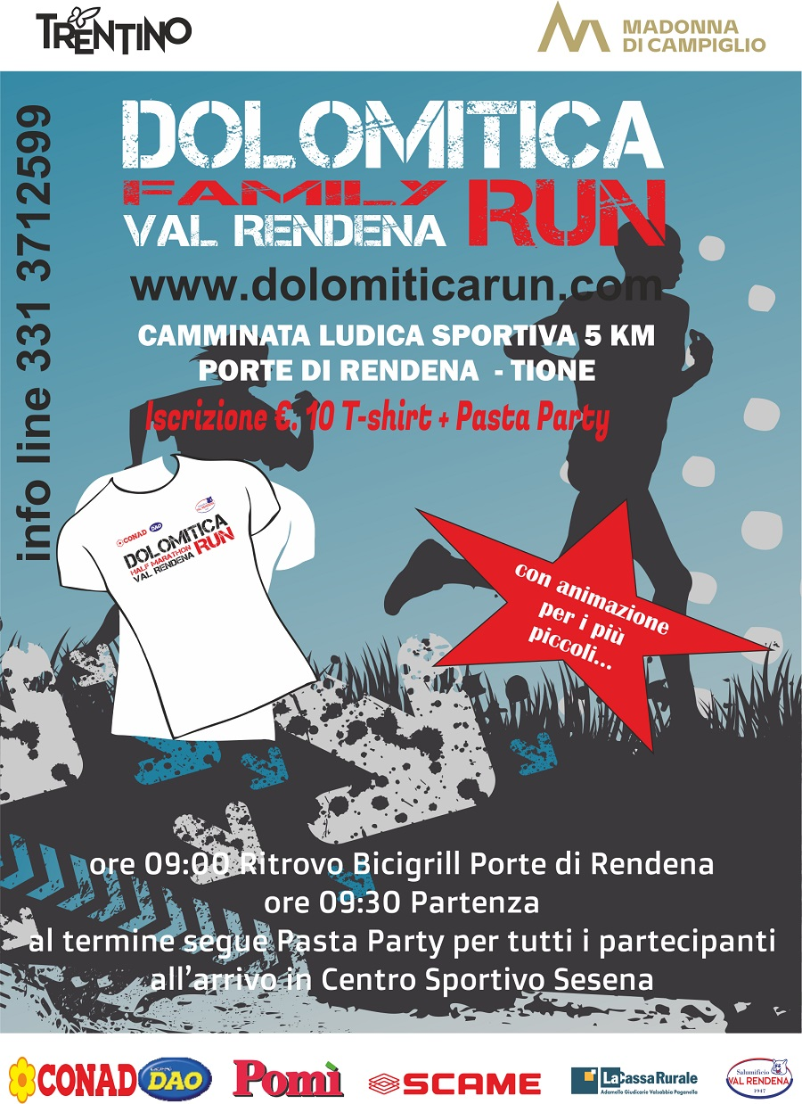 Family Run – Dolomitica Run Val Rendena Half Marathon