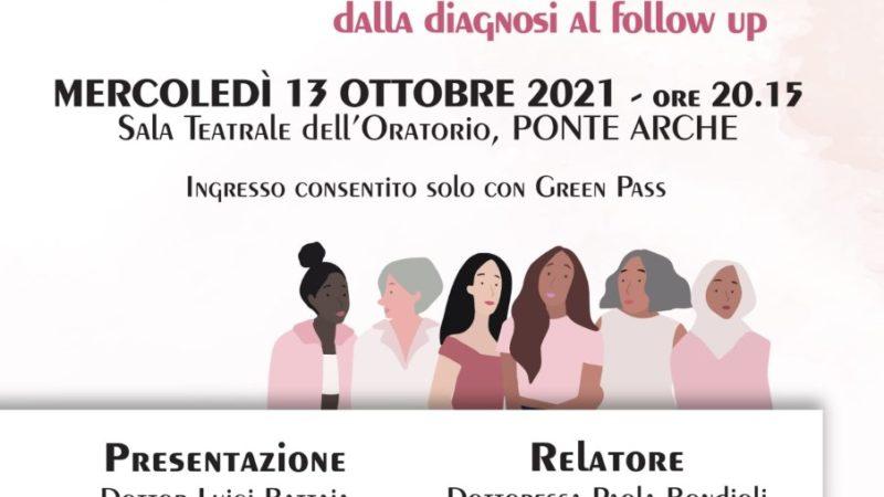 Ponte Arche, 13 ottobre: Tumore al seno e Breast Unit