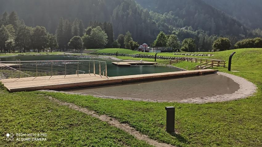 Apertura Biolago alla Pineta: nota dell'Amministrazione comunale di Pinzolo