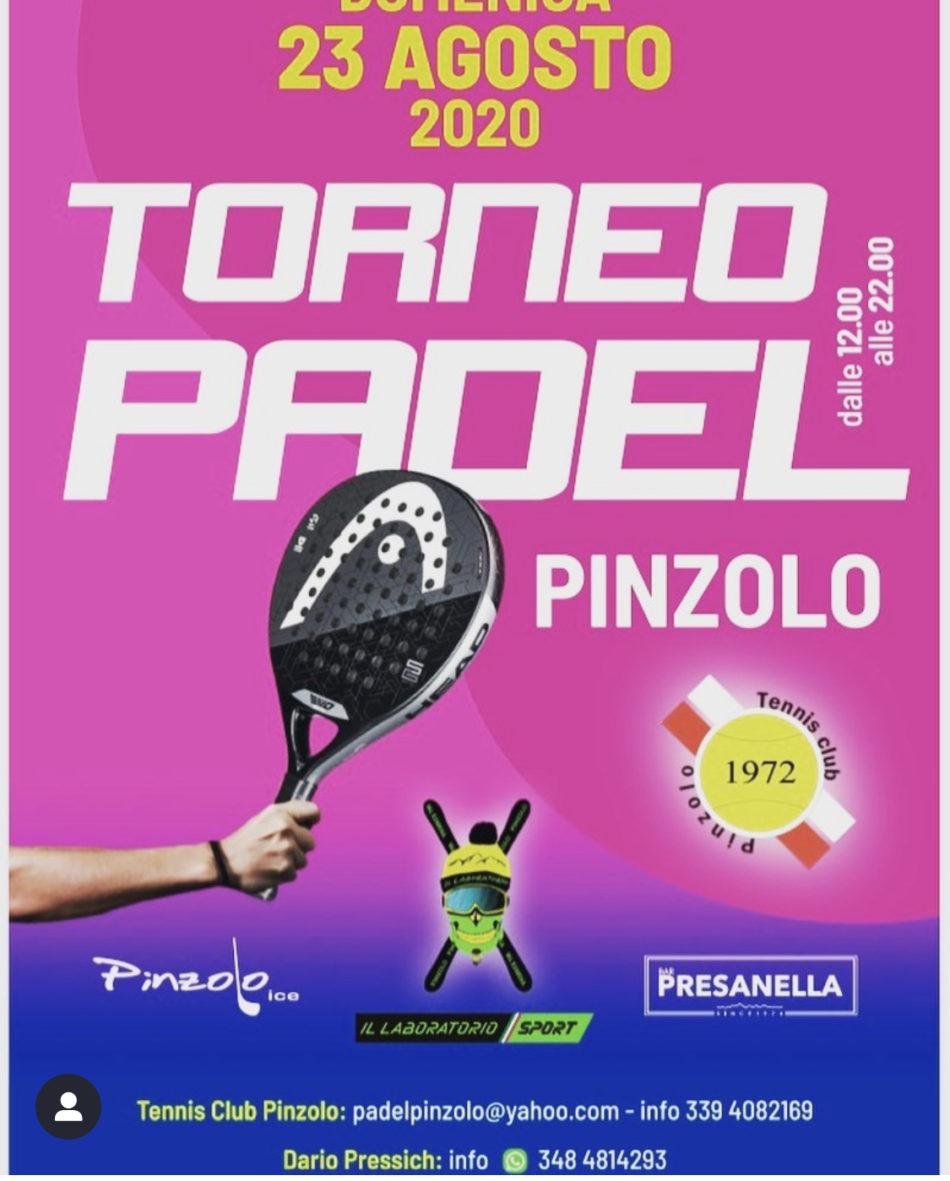 23 agosto: Torneo di Padel