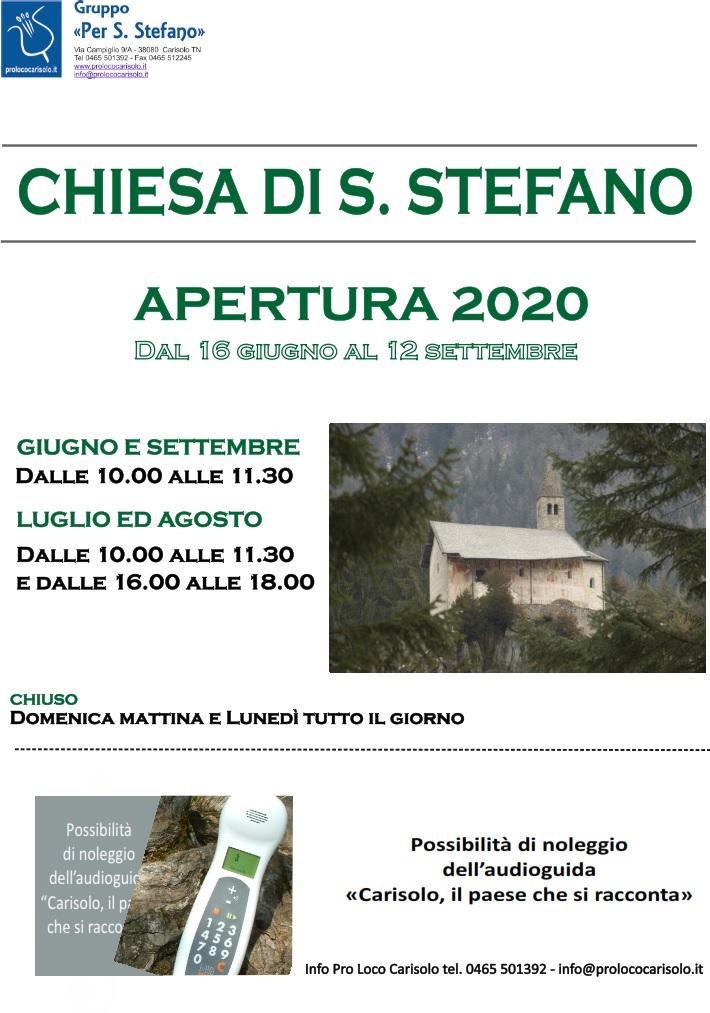 Apertura Chiesa S.Stefano