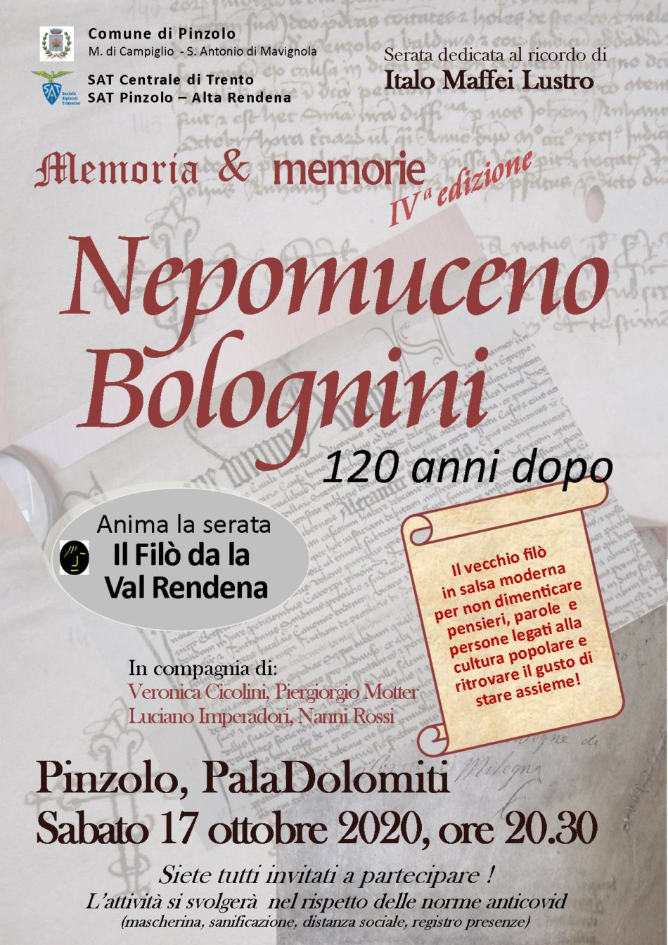 Memoria & Memorie: Nepomuceno Bolognini