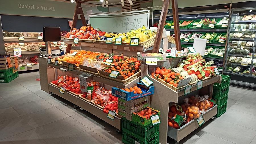 Supermercato Conad di Pinzolo: completamente rinnovato e quasi raddoppiata la superficie di vendita