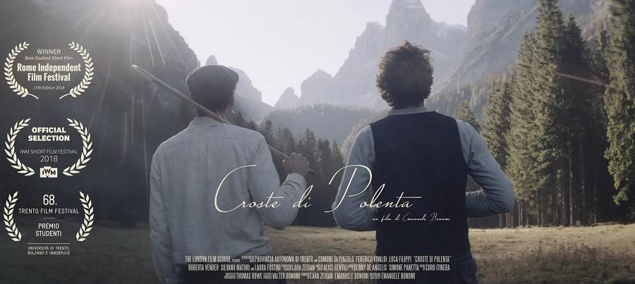 E' online il corto 'Croste di Polenta' di Emanuele Bonomi
