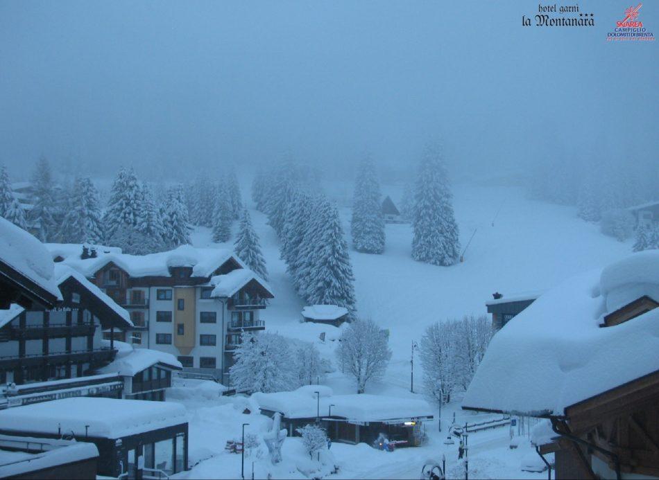 Altra neve sulla Skiarea Pinzolo-Campiglio