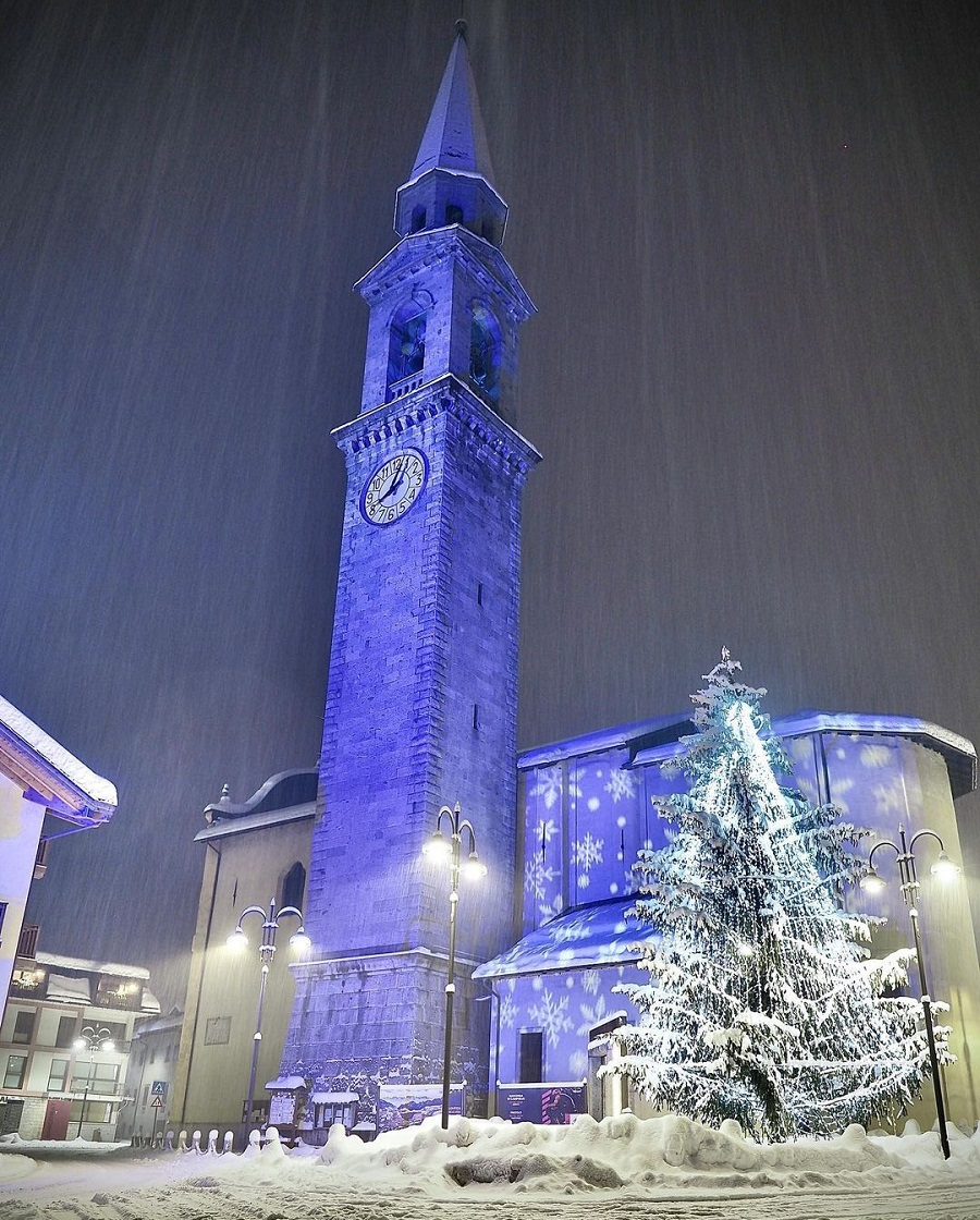 Pinzolo: la tanta neve ci regala paesaggi mozzafiato