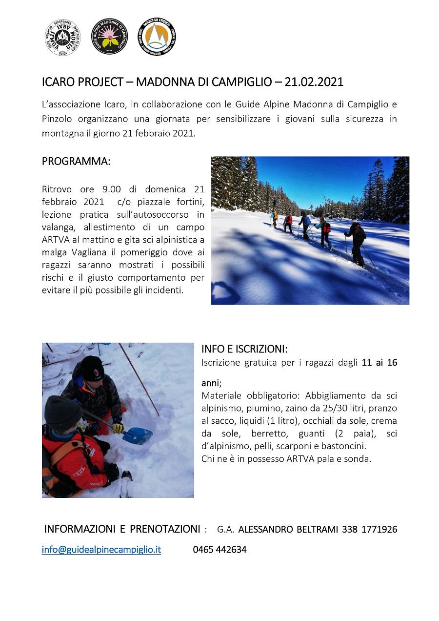 Attività per ragazzi – ICARO project
