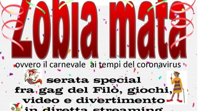 ZOBIA MATA ovvero il carnevale ai tempi del coronavirus