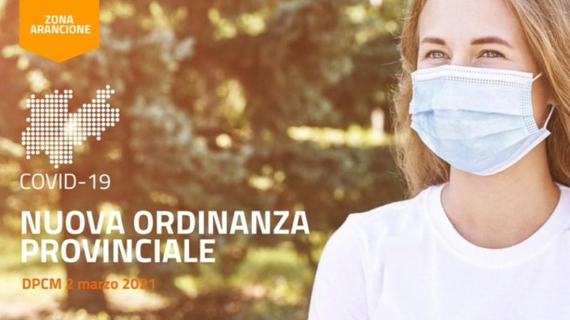 Covid-19: il Trentino resta in zona arancione