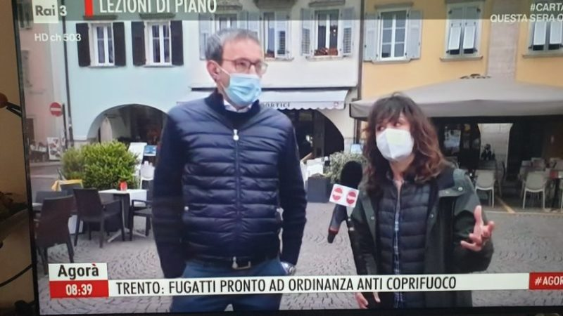 L'assessore Roberto Failoni ospite ad Agorà