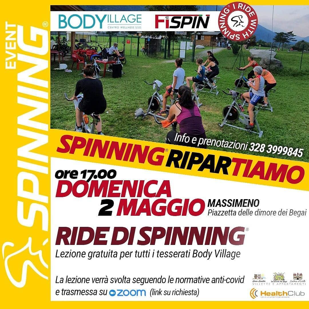 Ride di Spinning a Massimeno – Domenica 2 maggio